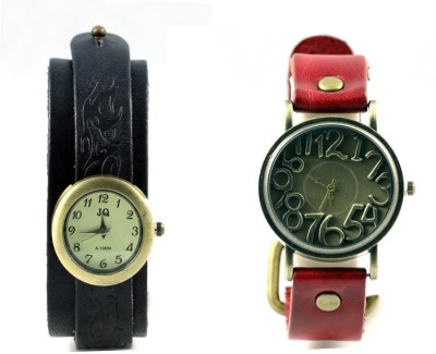 ARsalesIND Combo Of 2 Vintage Analog Watch  - For Girls, Women