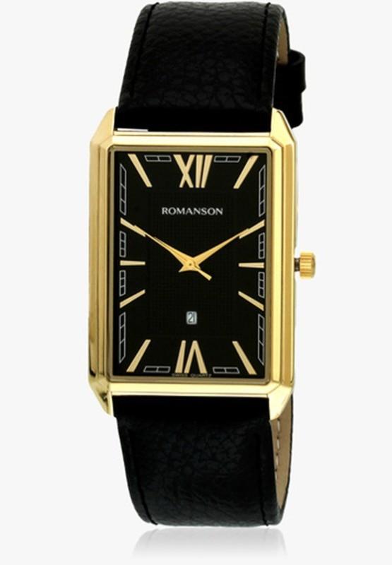 Romanson TL4206MM1GA31G Swiss Quartz Analog Watch For Men
