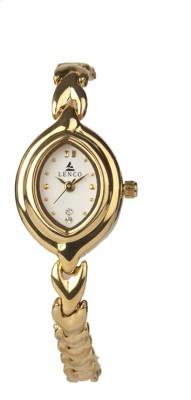 Lenco CPLENCOLADIES3842W Lenco Golden Beauty Analog Watch  - For Women