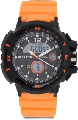 Fluid DMF-009-OR01 Analog-Digital Watch  - For Men