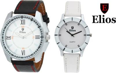 Elios EWMC25-33 Couple Combo Analog Watch  - For Men, Women