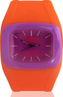 Wave London Wave London Drift Colour Burst Orange & Purple Watch (Wl-Cb-Oppl) Drift Colour Burst Analog Watch  - For Women