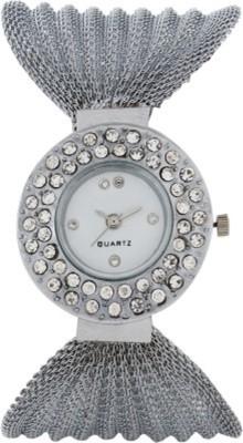 Fancy Glory Silver Analog Watch  - For Girls, Women