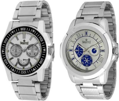 Swisstyle SS-1221W-003BW-1 Dazzle Analog Watch  - For Men