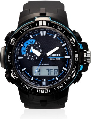 Skmei AD1081-Blue Sports Analog-Digital Watch - For Men, Boys, Women, Girls