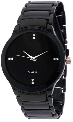 Fancy IIK Collection Black Analog Watch  - For Men