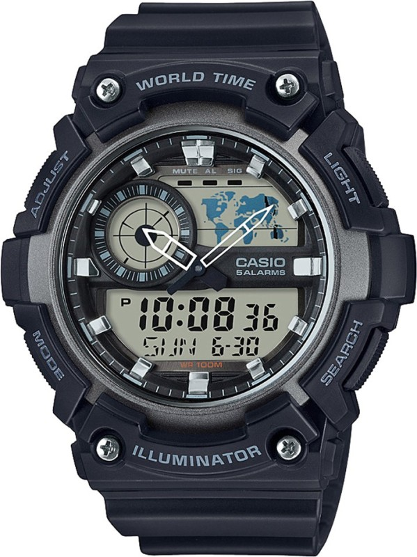 Casio AD210 Youth Combination Analog Digital Watch For Men