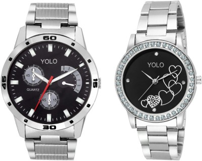 Yolo YCP-004 pair Analog Watch  - For Couple