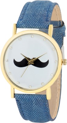 Gypsy Club GC-130 Mustache Series Analog Watch  - For Men, Boys, Women, Girls