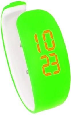 Fleetwood Wrislet Super Unique Parrot Green Digital Watch - For Girls, Women