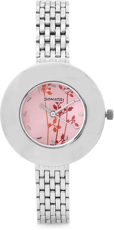 Sonata 8959SM01CJ Analog Watch For Women