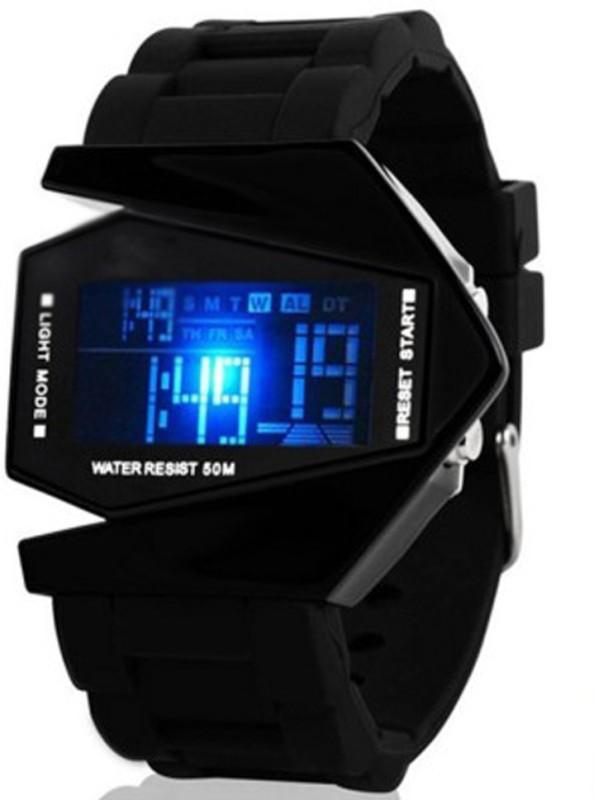 Nolilon Shukhoi Plane Designed Dragon Digital Watch For Men