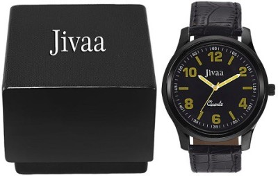 Jivaa Black Fox Analog Watch  - For Men, Boys