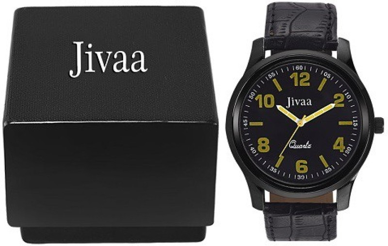 Jivaa Black Fox Analog Watch For Men