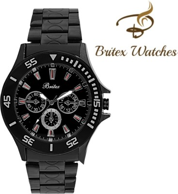 Britex BT3109 DTB Ultimate Chronograph Pattern Analog Watch  - For Men, Boys
