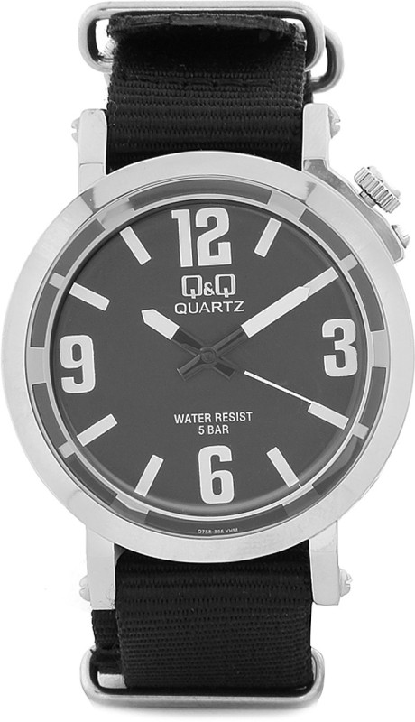QQ Q758J305Y Analog Watch For Men