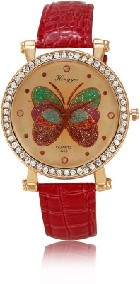 Hongyee Vintage Butterfly A53 Analog Watch  - For Women, Girls
