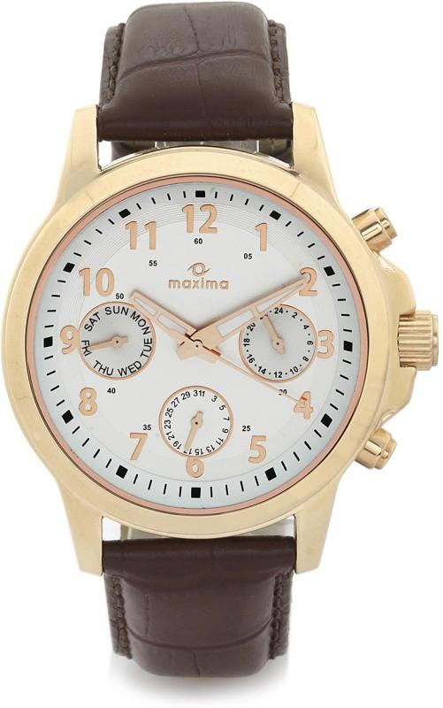 Maxima 30962LMGR Attivo Analog Watch For Men