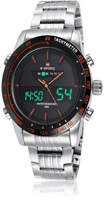 Naviforce W1207e Analog-Digital Watch  - For Men