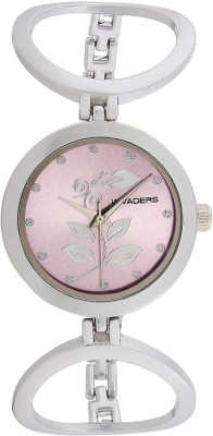 Invaders 67520-SCPPL Leaves Analog Watch  - For Women