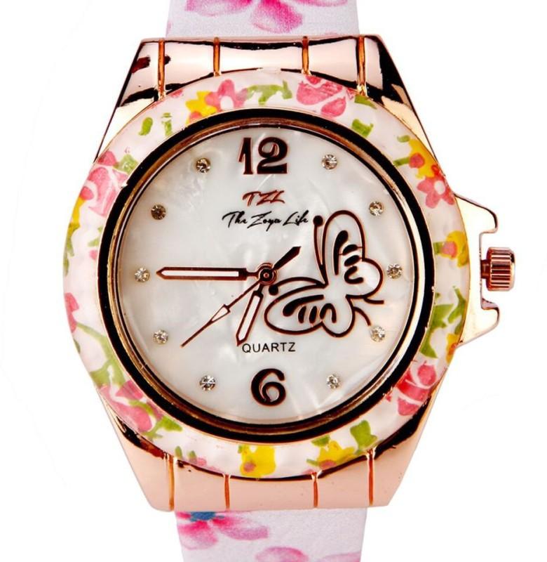 Zoya 919 Butterfly Analog Watch For Women WATE954VN7MUVCQM