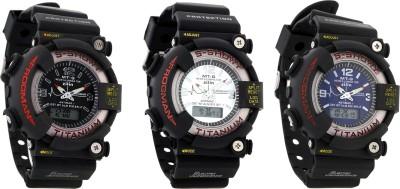 SHHORS Dww5007 Analog-Digital Watch  - For Boys, Men