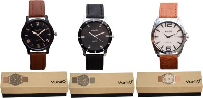YuniiQ YUN37 Analog Watch  - For Men