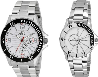 ZIERA ZR2256-ZR8020 Analog Watch - For Couple