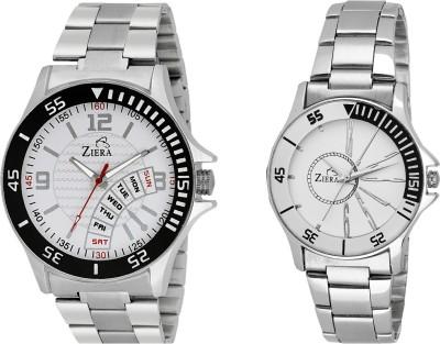 ZIERA ZR2256-ZR8020 Analog Watch  - For Couple