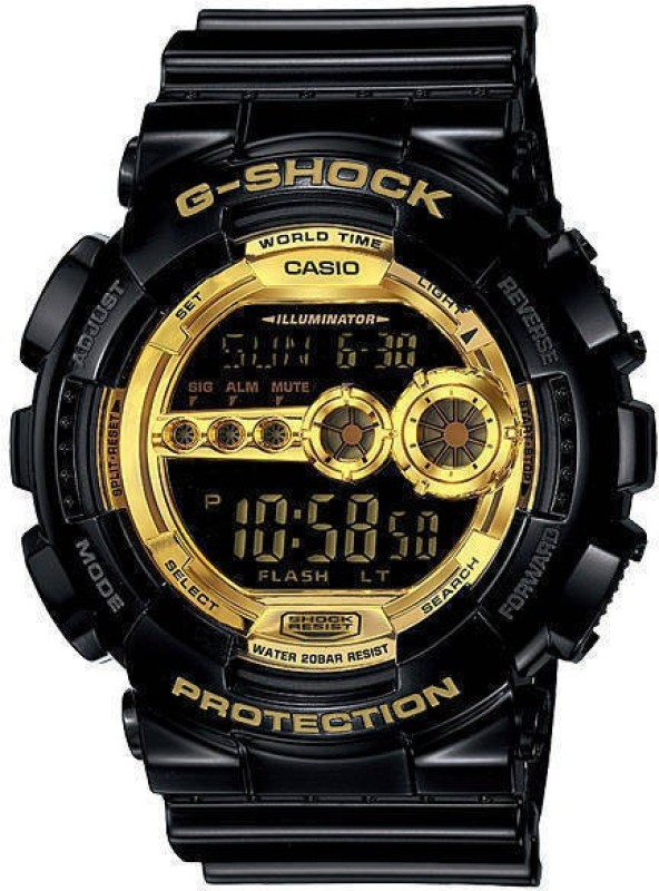Casio GD 100GB 1DRG340 G Shock Analog Digital Watch For Men