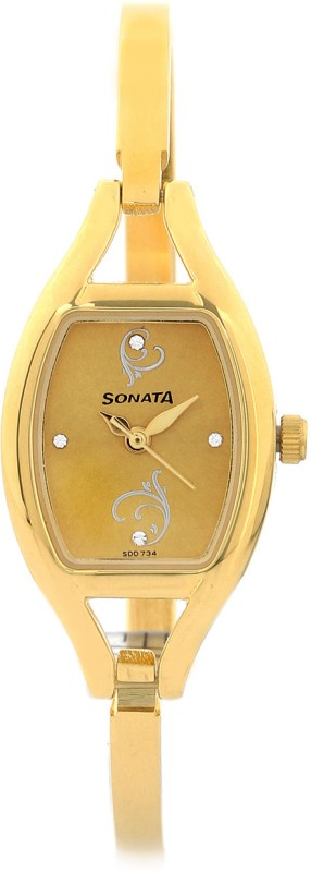 Sonata 8114YM05 Analog Watch For Women