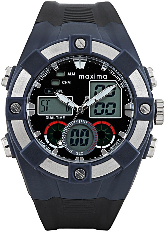 Maxima 28631PPAN Fiber Analog Digital Watch For Men