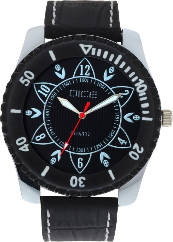 Dice TRB B006 2114 Trendy Black Analog Watch For Men