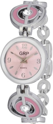 dazzle GRP-LR102-PNK-CH GRP Analog Watch  - For Women