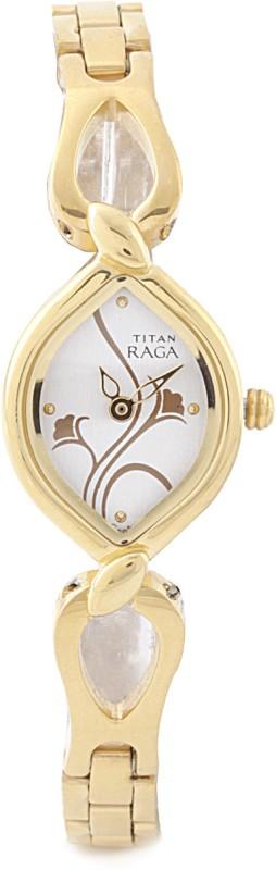Titan NH2455YM03 Raga Analog Watch For Women