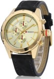 Curren Nx Signature Luxury Gold Dial Ana...