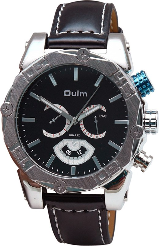 OULM HP3694BL Analog Watch For Men