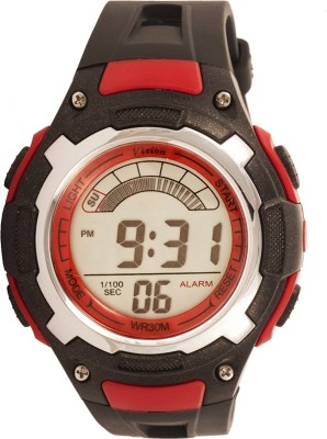 Vizion 8009027B-5RED Sports Series Digital Watch  - For Boys, Men