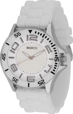 Marco MR-GR066-WHT-WHT SPORTS Marco Analog Watch  - For Men