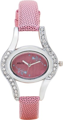 Adine ad-1242pnk Analog Watch  - For Girls, Women