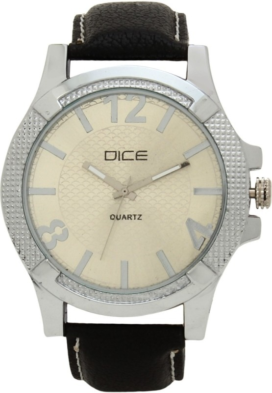 Dice DCMLRD35LTCRMBLK244 Analog Watch For Men