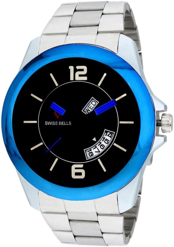 Svviss Bells TA 904BlkD Analog Watch For Men