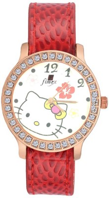Fimex fx11Red Analog Watch  - For Girls