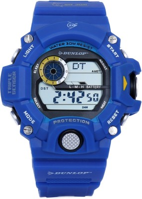 Dunlop DUN-265-G03 Digital Watch  - For Boys, Men