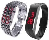 Puma Plus 22b Digital Watch  - For Men