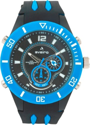 Aveiro AV128DMLTBLKBLU_1 Analog Watch  - For Men