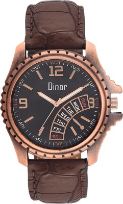 Dinor dr-5012 Trivia Analog Watch  - For Men