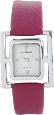 Addic Forest Classic Rectangle Shape Dial W-109 Analog Watch  - For Women