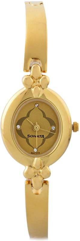Sonata 8093YM01C Analog Watch For Women