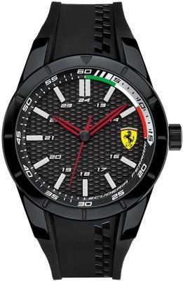 Scuderia Ferrari 0830301 Red Rev Analog Watch  - For Men